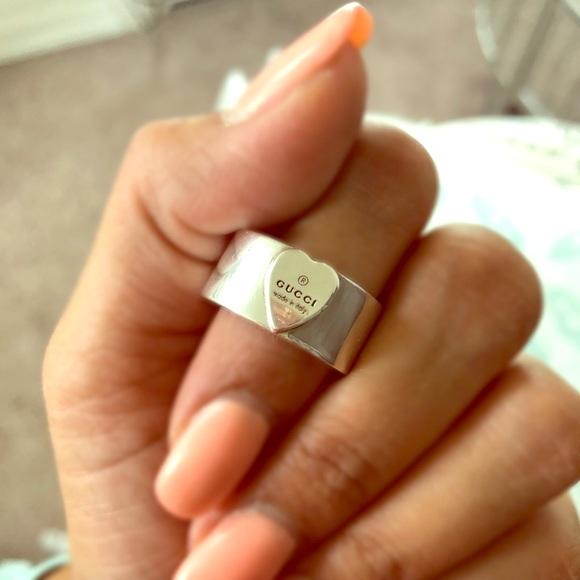 c5f6c0972 Gucci Jewelry | Authentic Heart Ring | Poshmark